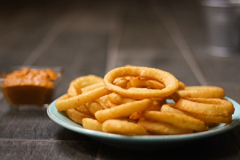 Onion Ring Battered Skinny Cut